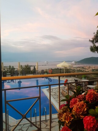 semiramis hotel gallery pool view